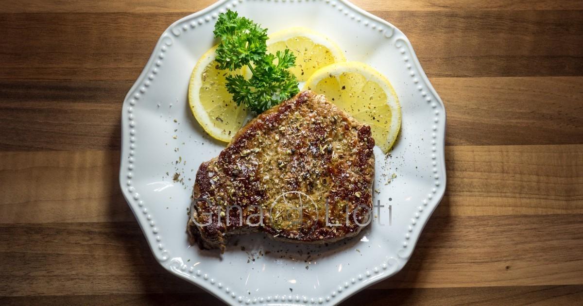 Greek style beef fillet
